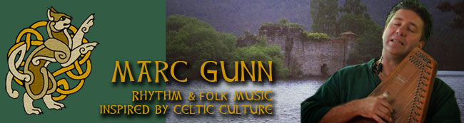 Marc Gunn - Rhythm and Folk music inspired by Celtic culture