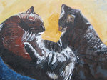 Cat Portraits - To Love Is Huma, To Purr Divine
